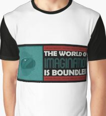 The world of imagination is boundless virtual reality Graphic T-Shirt