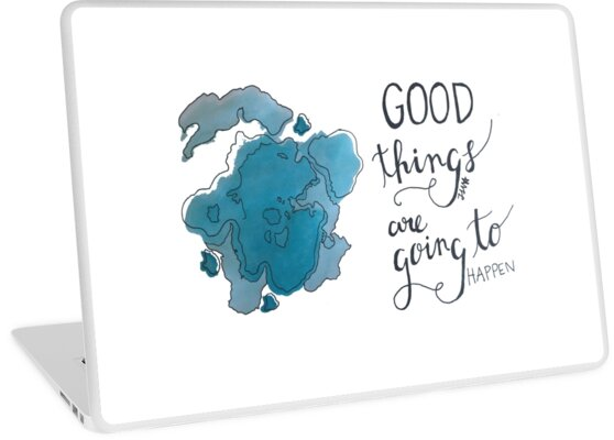 Good Things are Going to Happen  by jessidraws