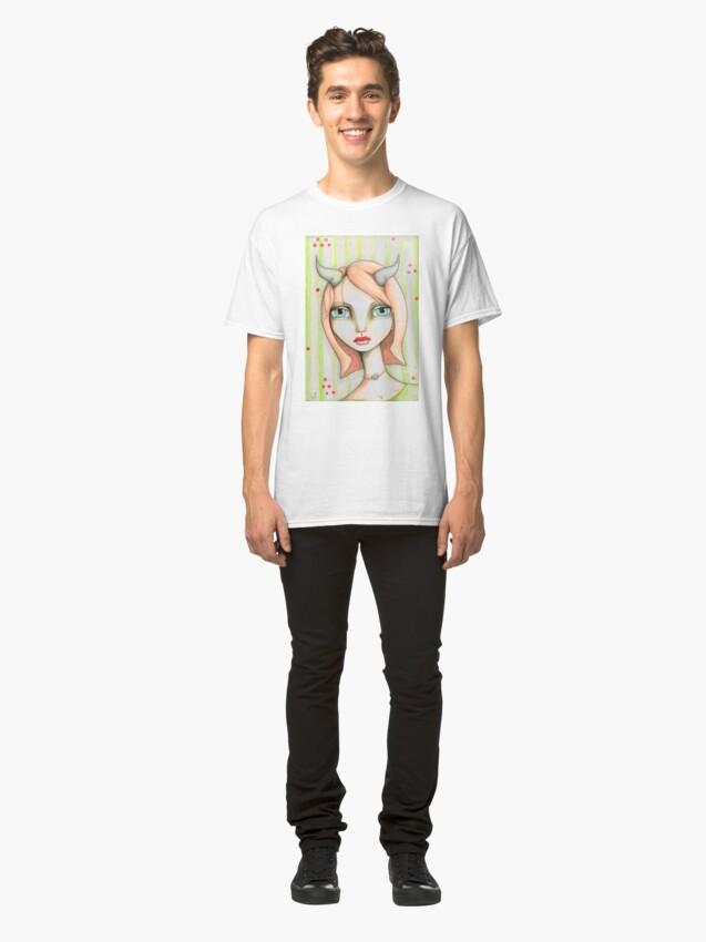 Alternate view of Peachy Faun Classic T-Shirt