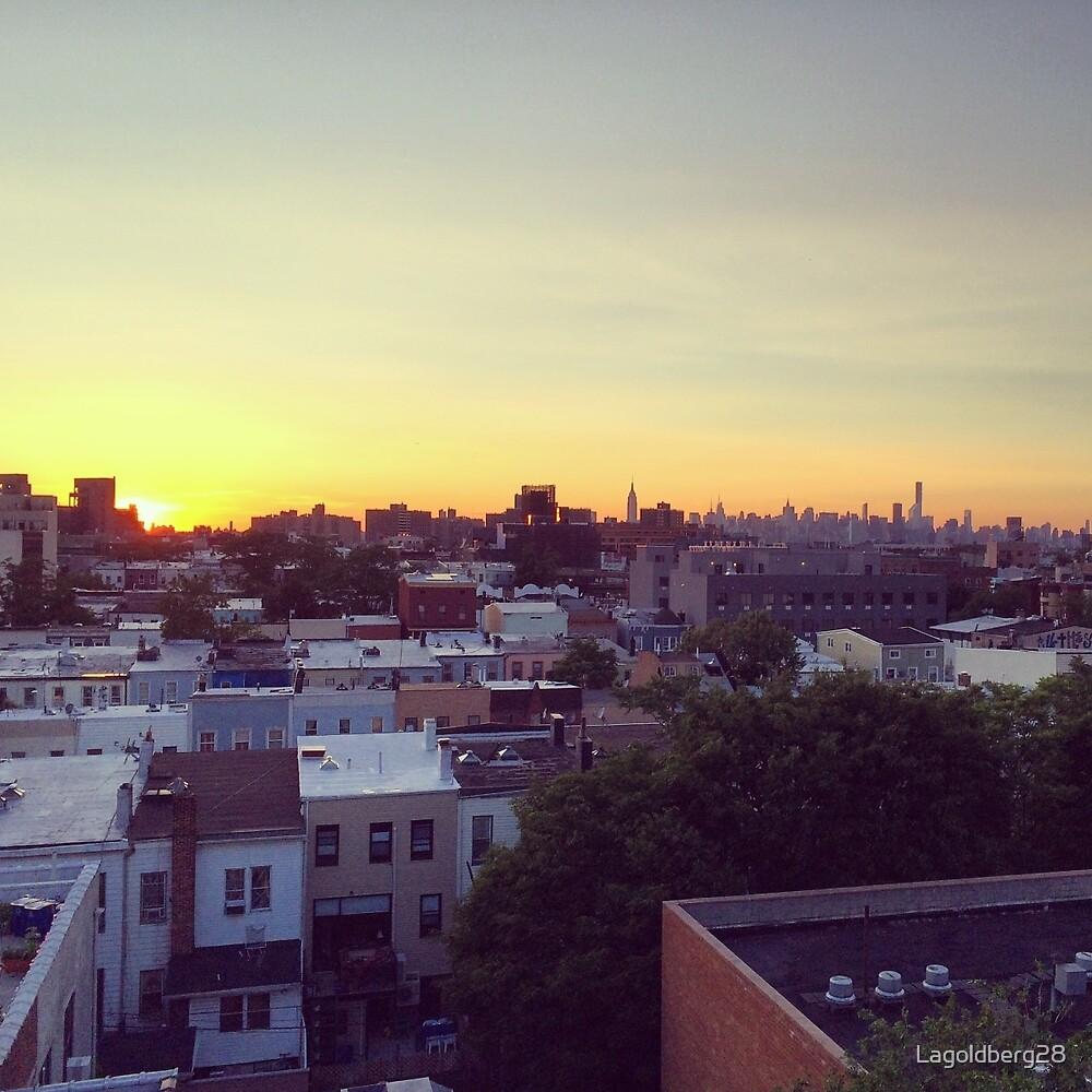Brooklyn -NYC Sunset by Lagoldberg28