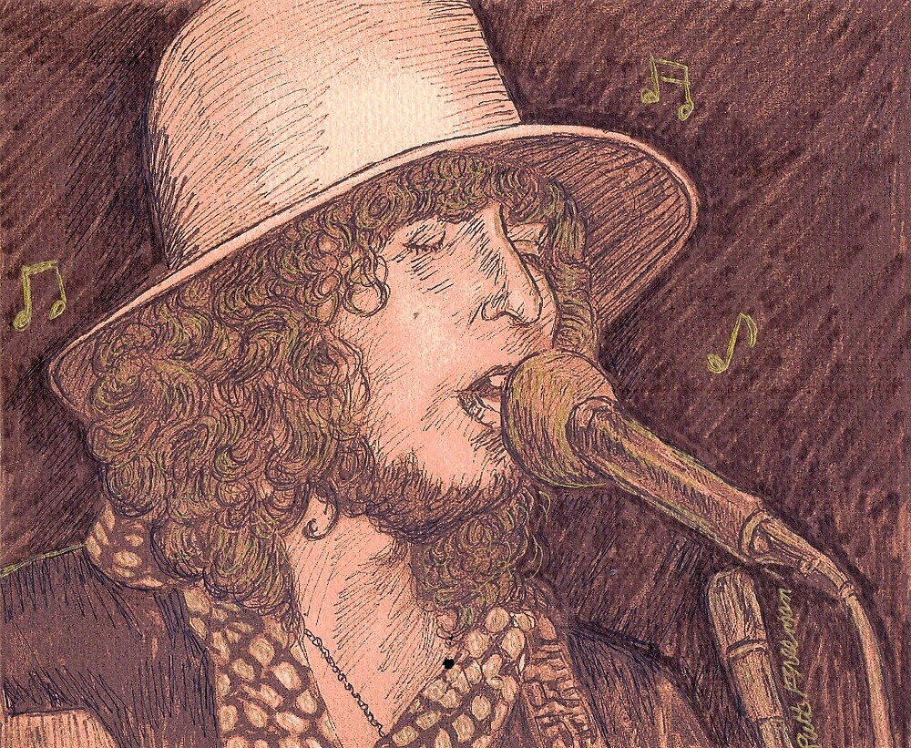 BOB DYLAN PERFORMING by monaruth