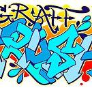 Graff Trash Color Splasher by paintcave