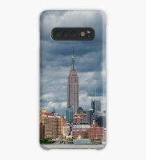 Cloudy day of Manhattan Midtown Skyline, New York United States Case/Skin for Samsung Galaxy