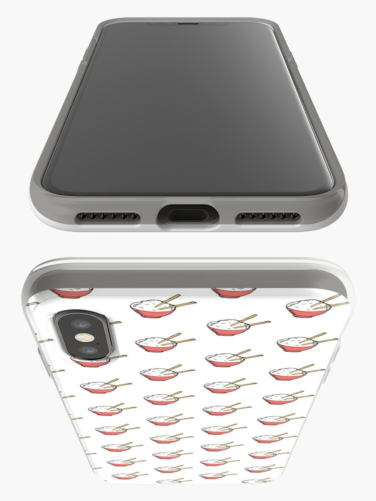 Vista alternativa de Funda y vinilo para iPhone Ejemplo lindo del cuenco de arroz