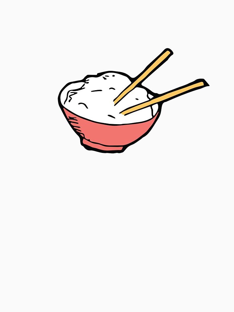 Ejemplo lindo del cuenco de arroz de sammieperry