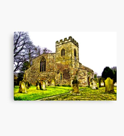 St Peters Church - Croft-on-Tees .#2 Canvas Print