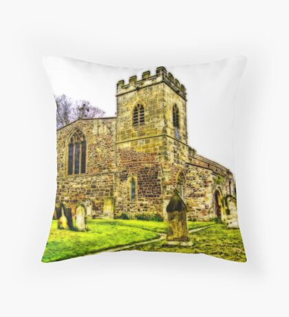 St Peters Church - Croft-on-Tees .#2 Throw Pillow