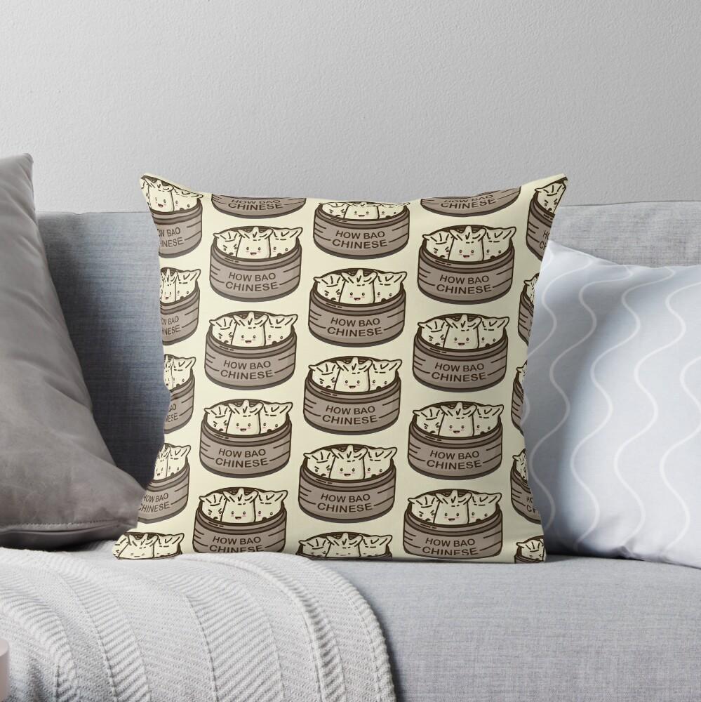 How Bao Chinese? Throw Pillow