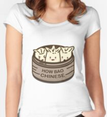 How Bao Chinese? Fitted Scoop T-Shirt