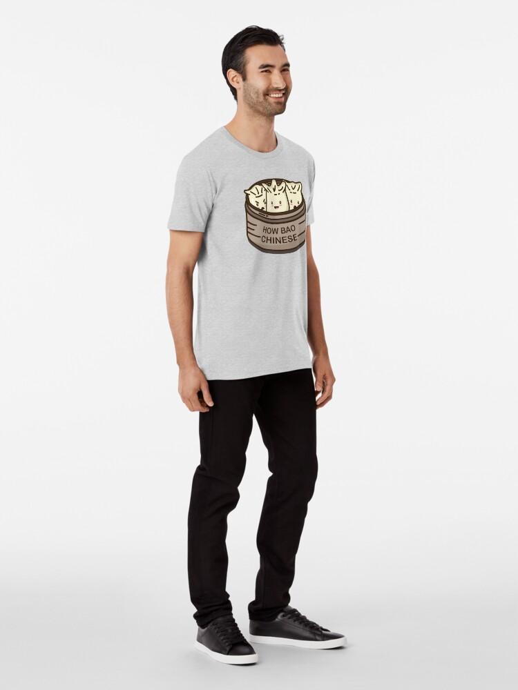 Alternate view of How Bao Chinese? Premium T-Shirt