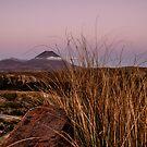 Sunset on Mt Ngauruhoe by Stephen Johns