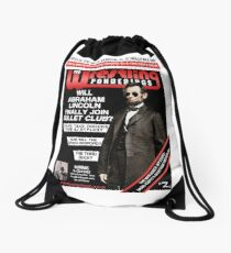 PRO WRESTLING PONDERINGS: LINCOLN EDITION Drawstring Bag