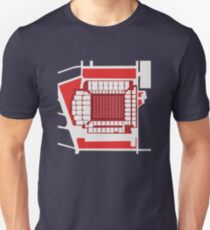 Liverpool Anfield Stadium Overhead Slim Fit T-Shirt