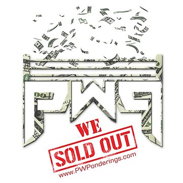 PWP - WE SOLD OUT (BLACK SHIRT) by pwponderings