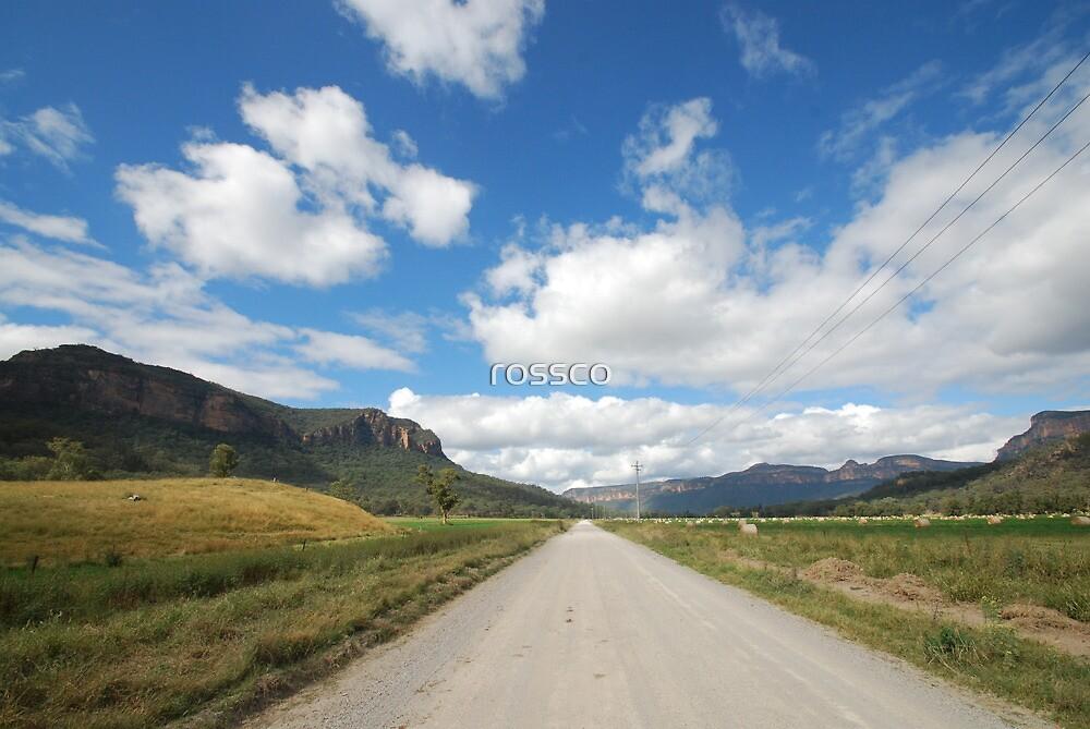 The Road To Glen Davis by rossco