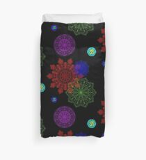 Mandala Indian Goa Party Om Duvet Cover