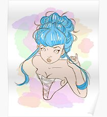 Corset girl Poster