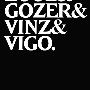Zuul&Gozer&Vinz&Vigo by butcherbilly