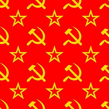 Communism - Soviet Union - Hammer Sickle Star by welikestuff