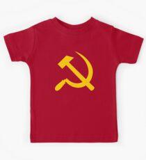 Communism - Soviet Union - Hammer Sickle Star Kids Tee