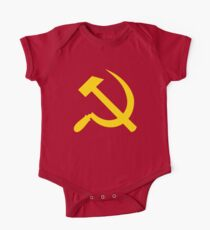 Communism - Soviet Union - Hammer Sickle Star Kids Clothes