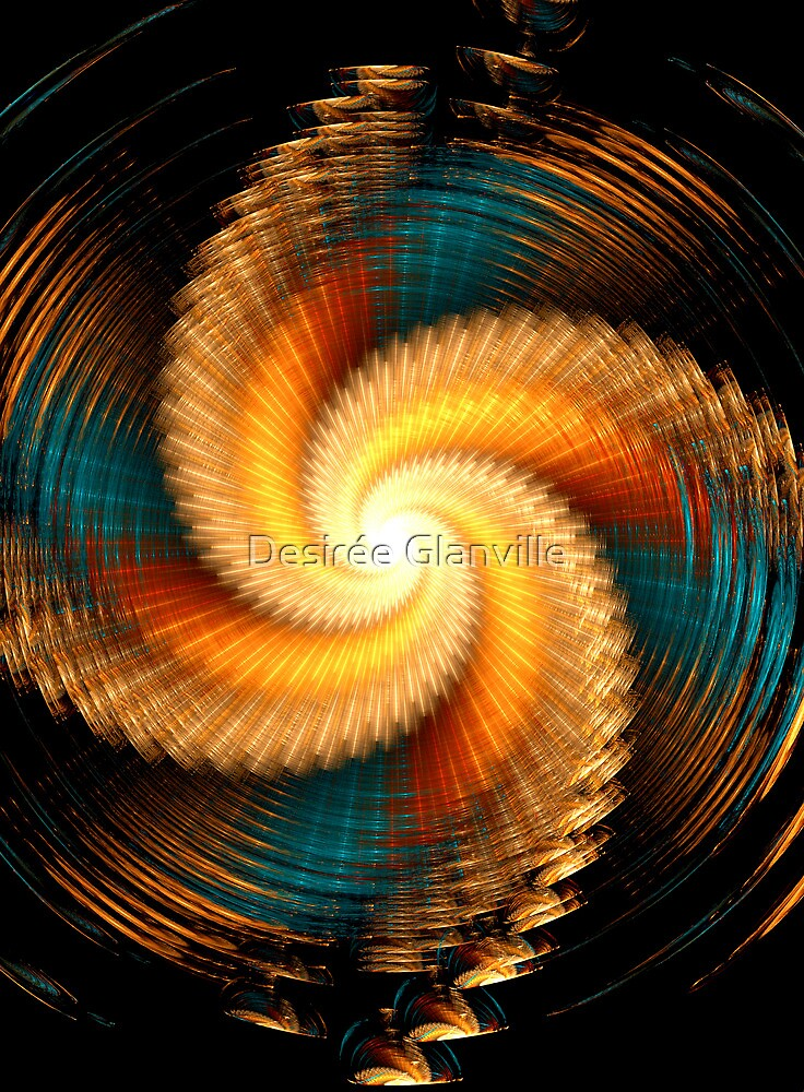 The Rainbow Vortex by Desirée Glanville