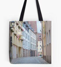 Quiet Empty Street Tote Bag