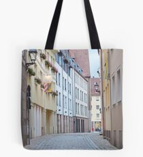 Quiet Empty Street Tote Bag
