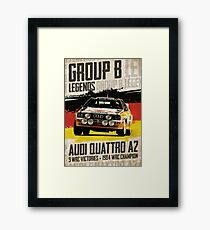 Group B Legends - Audi Quattro A2 Framed Print