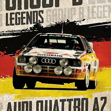 Group B Legends - Audi Quattro A2 by Rebellion765