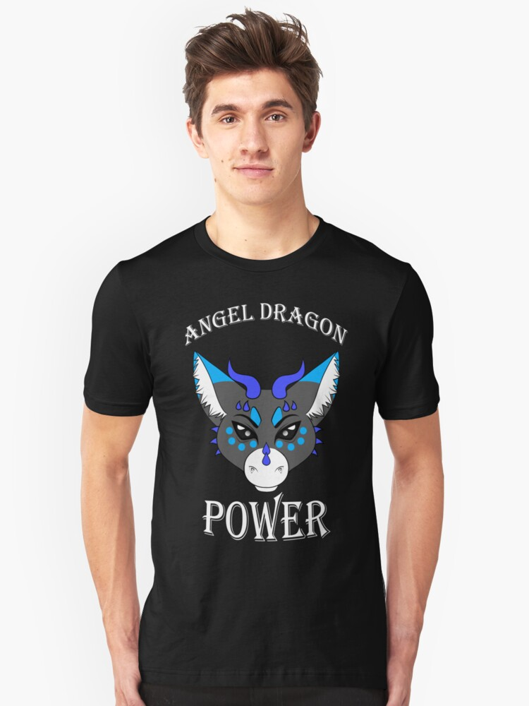Angel Dragon Power Unisex T-Shirt Front