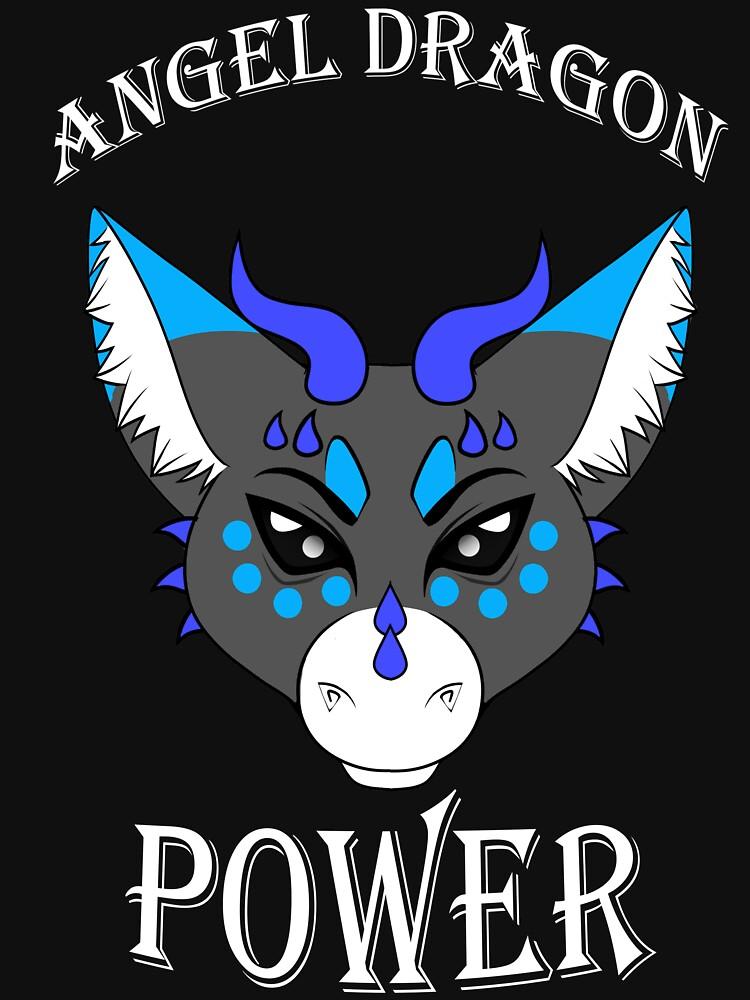 Angel Dragon Power by TheHuntingWolf