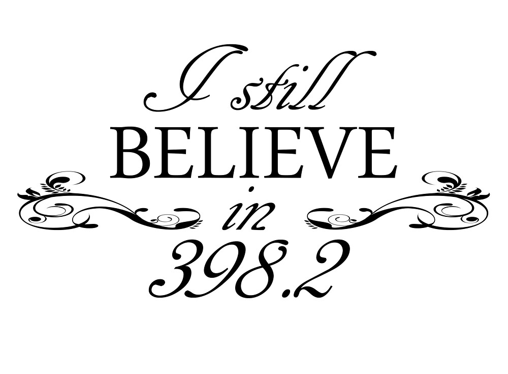 I Still Believe in 398.2 by biblioburrito