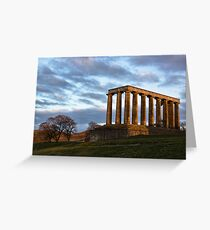 Calton Hill Greeting Card