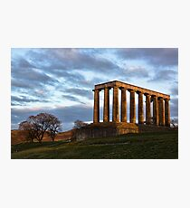 Calton Hill Photographic Print