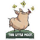 """A. J. HOGG """"THIS LITTLE PIGGY"""" by PigMan62"""