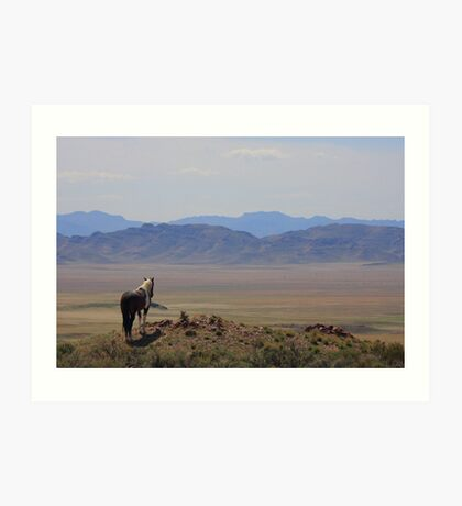 Watching Over The Land Art Print