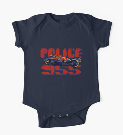 Police Spinner Kids Clothes