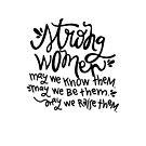 Strong Women by Jessica Cushen