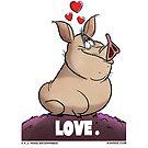 "A. J. HOGG ""LOVE."" by PigMan62"