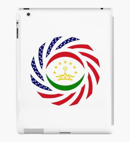 Tajik American Multinational Patriot Flag Series iPad Case/Skin