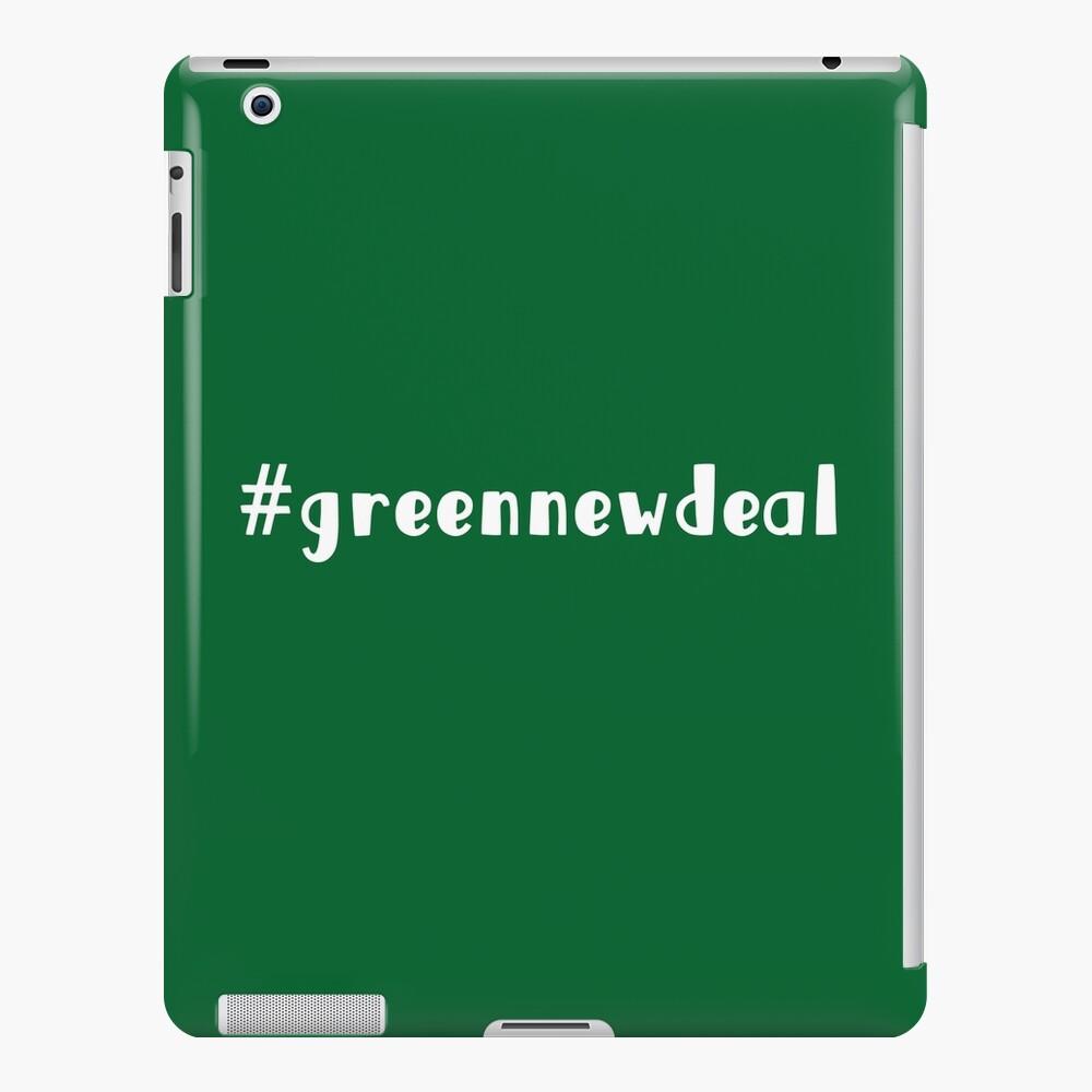 Nuevo trato verde AHORA Funda y vinilo para iPad