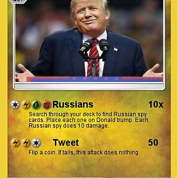 Donald Trump Card by historicalstuff