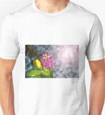 Purple Passion in Storm Clouds Unisex T-Shirt
