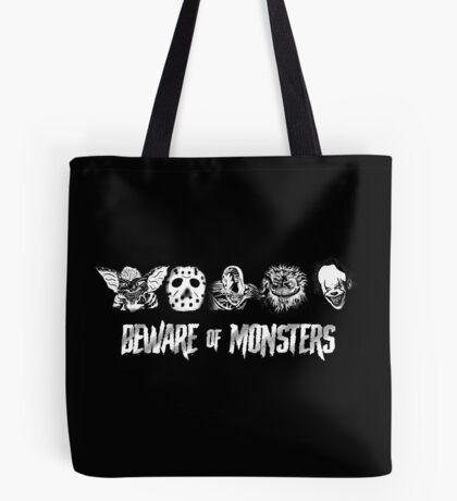 Beware of Monsters Tote Bag