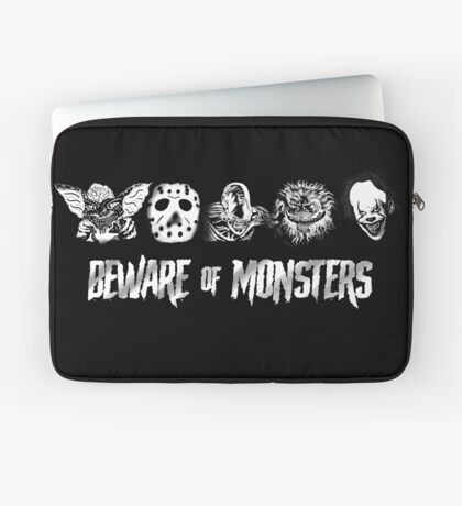 Beware of Monsters Laptop Sleeve