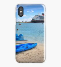 Castaway Cay Watersports iPhone Case/Skin