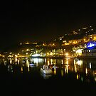 Cornwall: Looe by Night by Rob Parsons