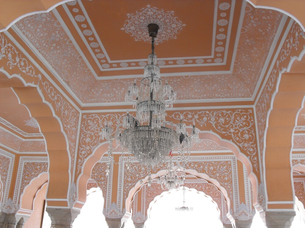 Indian Temple Chandelier by Mommabec