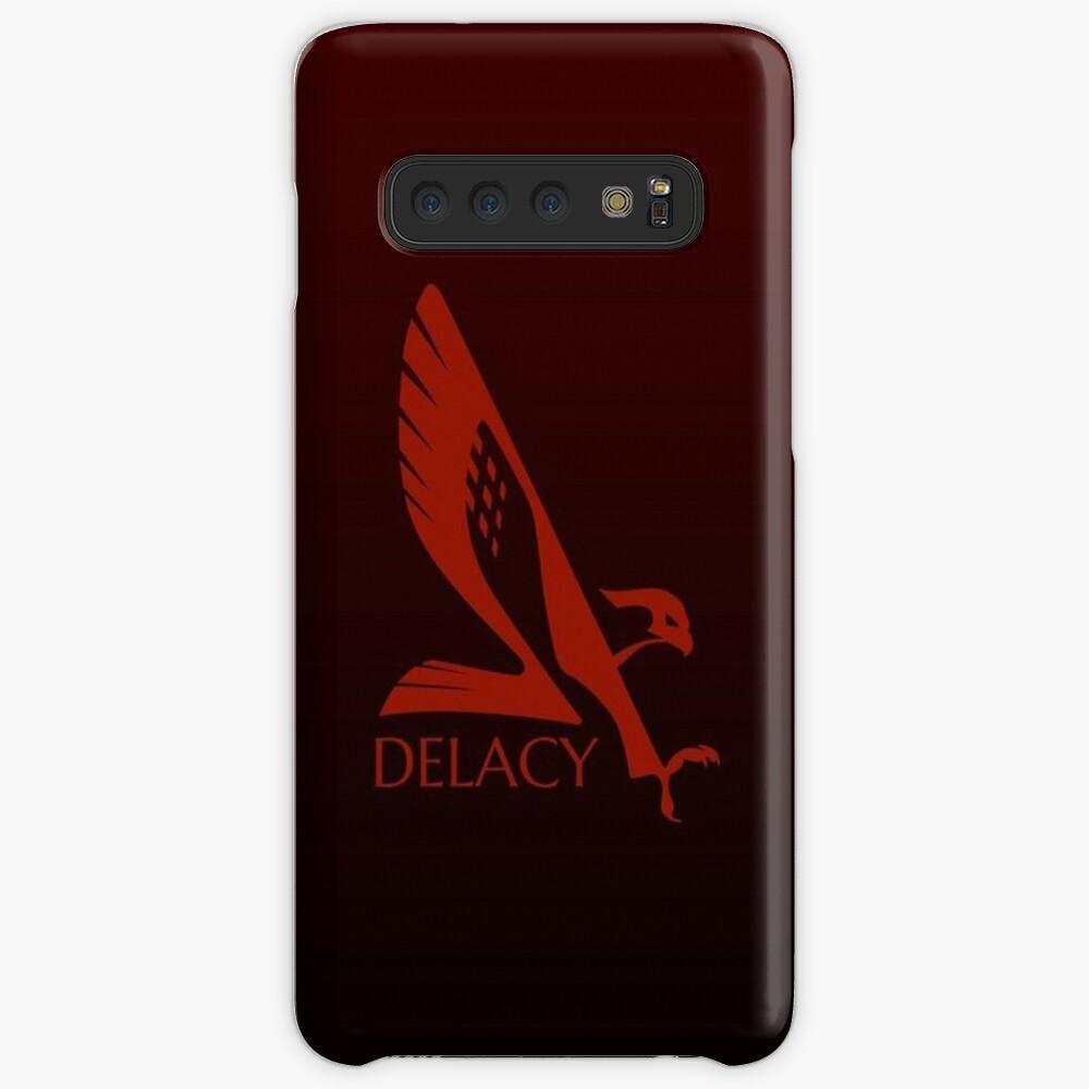 Elite Dangerous - Delacy Corporation Hülle & Klebefolie für Samsung Galaxy